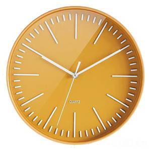 Relógio CEP - digital - Ø 300 mm - amarelo