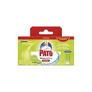 Discos ativos Pato - aroma lima