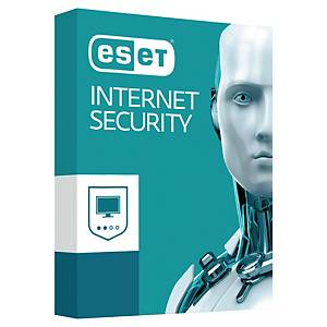 Suite Eset Internet security - 3 postes - 1 an