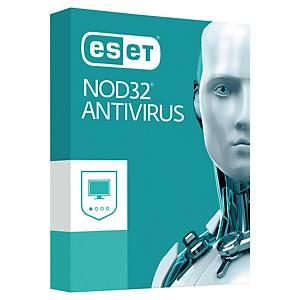 Antivirus Eset Nod 32 - 3 postes - 1 an