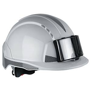 JSP EvoLite CR2 veiligheidshelm met badgehouder, wit