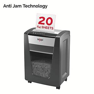 Rexel Shredder Momentum X420 Cross Cut P4 20 Sheet Shredder