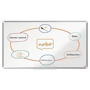 Nobo Premium Plus Widescreen Steel Magnetic Whiteboard 1220x690mm