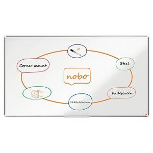 Lavagna Nobo Nano Clean widescreen 85   bianca