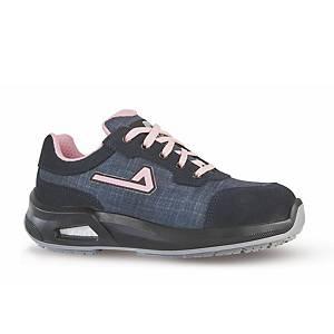 Chaussures de sécurité femme basses Aimont Amy S1P - jean/rose - pointure 37
