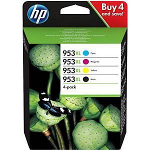Tintenpatrone HP No. 953XL 3HZ52AE, 1 600-2 000 Seiten, farbig