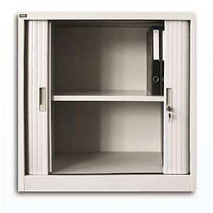 雙門膠閘捲門鋼櫃 2層 H90 x W91.2 x D45cm