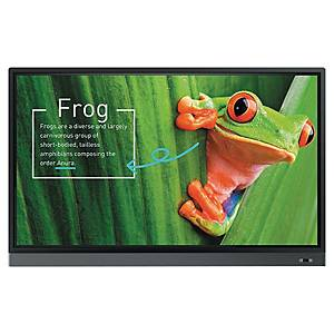 Ecran interactif tactile BenQ RM7501K - LED - 4K Ultra HD - 75