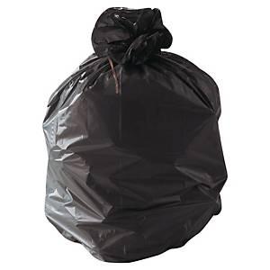 Sac poubelle pour déchets lourds - 110 L - 35 microns - noir - 200 sacs