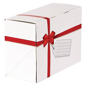 Fellowes Red Ribbon Gift Mailing Boxes Box of 5