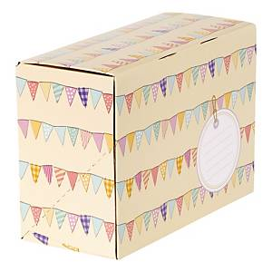 Bunting Gift Mailing Boxes Box of 5