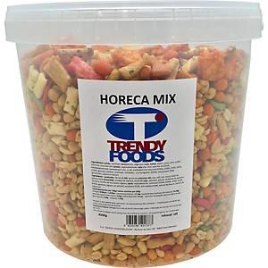 Horeca borrelnootjes, zout, doos van 5 kg