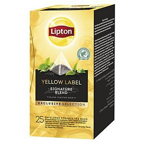 Lipton Yellow Tea - Black Tea - 25 bags