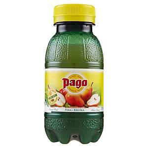 Succo di frutta pera Pago bottiglietta 20 cl - conf. 12