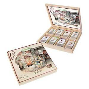 Tisane 8 gusti assortiti in scatola di legno - conf. 40