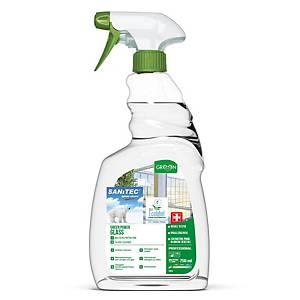 Sanitec Green Power ablak- és üvegtisztító, 750 ml