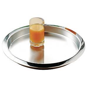 Tablett Esmeyer 307-009 Venga, Durchmesser: 35cm, Edelstahl