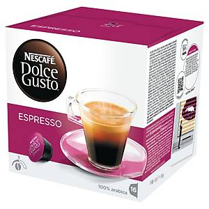 PK16 DOLCE GUSTO COFFEE CAPS EXPRESSO