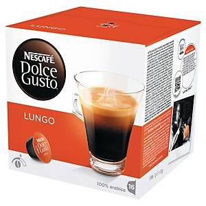 PK16 DOLCE GUSTO COFFEE CAPS LUNGO