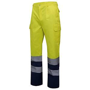 Calças de alta visibilidade Velilla 303001 - bicolor - tamanho L