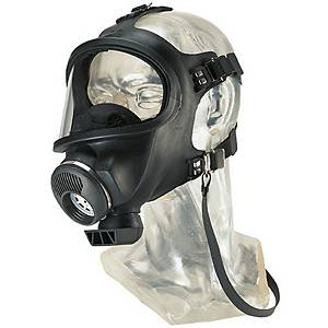 MSA D2055000 REUSABLE FULL FACE MASK 3S