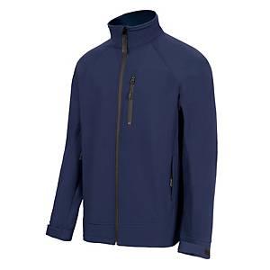 Casaco Velilla softshell 206005 - azul marinho - tamanho M