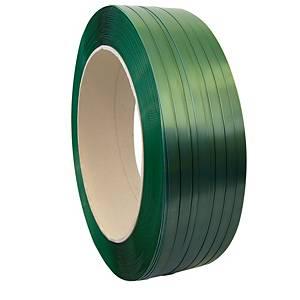 Fleje - 19 mm x 1000 m - poliéster - verde