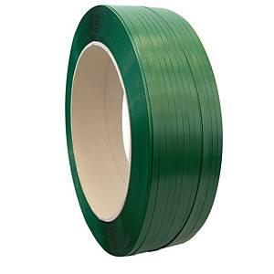 Fleje - 12 mm x 2600 m - poliéster - verde