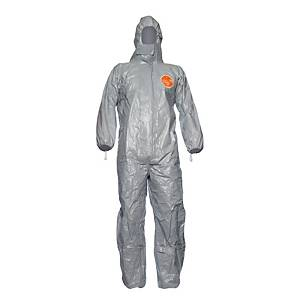 TYVEK TYCHEM F PROTECT COVERALL GREY L