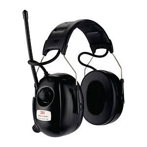 Høreværn 3M Peltor DAB+/FM-radio, SNR 31 dB