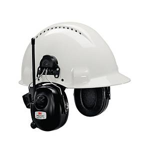 Høreværn 3M Peltor DAB+/FM-radio, til hjelmmonteret, SNR 30 dB