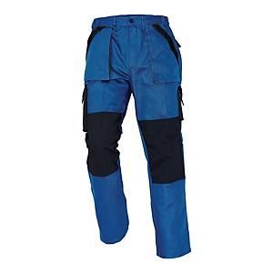 Spodnie CERVA Max Classic, niebiesko-czarne, rozmiar 64