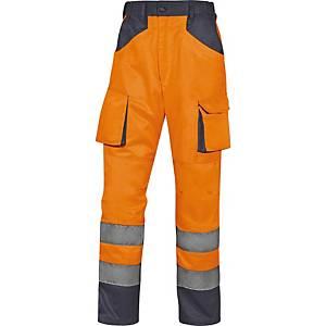 Pantalon de travail Deltaplus M2PHV MACH2, type EN20471-2, taille M
