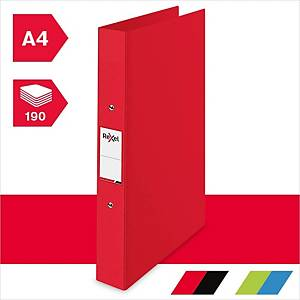 Rexel Choices A4 Ring Binder, 25mm Spine, 2 O-Ring, Red