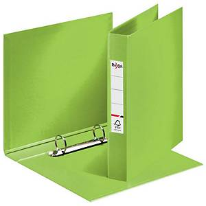 Rexel Choices A4 Ring Binder, 25mm Spine, 2 O-Ring, Green