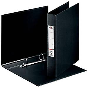 Rexel Choices A5 Ring Binder, 25mm Spine, 2 O-Ring, Black