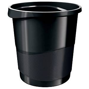 Rexel Choices 14 Litre Waste Bin Black