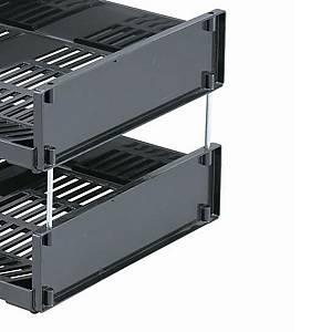 Distanziatori in metallo per vaschetta portacorrispondenza Durable A3 - conf. 4