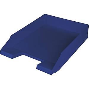 Briefkorb Helit H23616, stapelbar, Maße: 245 x 347 x 67mm, blau