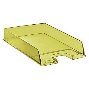 Vaschetta portacorrispondenza Esselte Color Ice polistirene giallo trasparente