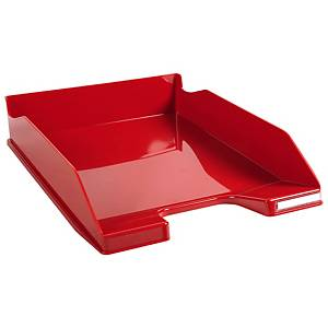 Exacompta Combo Midi brievenbak, A4+, gloss donkerrood