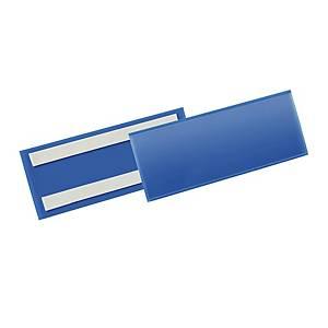 Tasca per identificazione adesiva Durable 210x74 mm