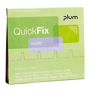 Recharge pansements QuickFix, élastiques, paquet de 45