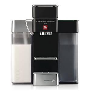 illy 特濃及過濾膠囊咖啡機 Y5 Milk E&C 黑色