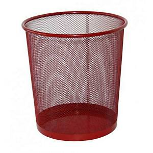 SAKOTA MESH WASTE BIN 18L RED