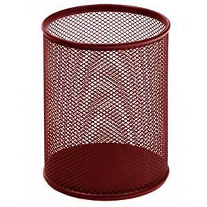 Drôtený stojan na perá SaKOTA, červený