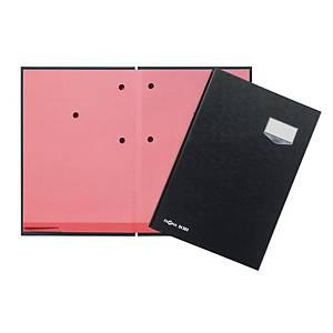 Unterschriftsmappe Pagna 24202, 20 Fächer, ledergeprägter Eco-Einband, schwarz