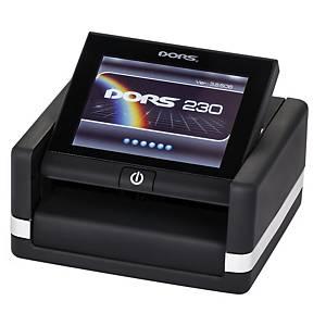 Multi-menový tester na bankovky Dors 230