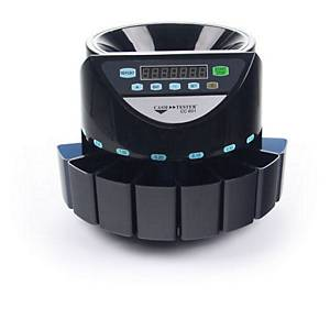 Počítač a triedička mincí Cash Tester CC 601