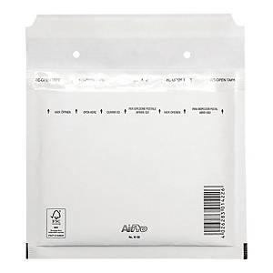 Koperty bąbelkowe AirPro® Bong CD białe, w opakowaniu 100 sztuk